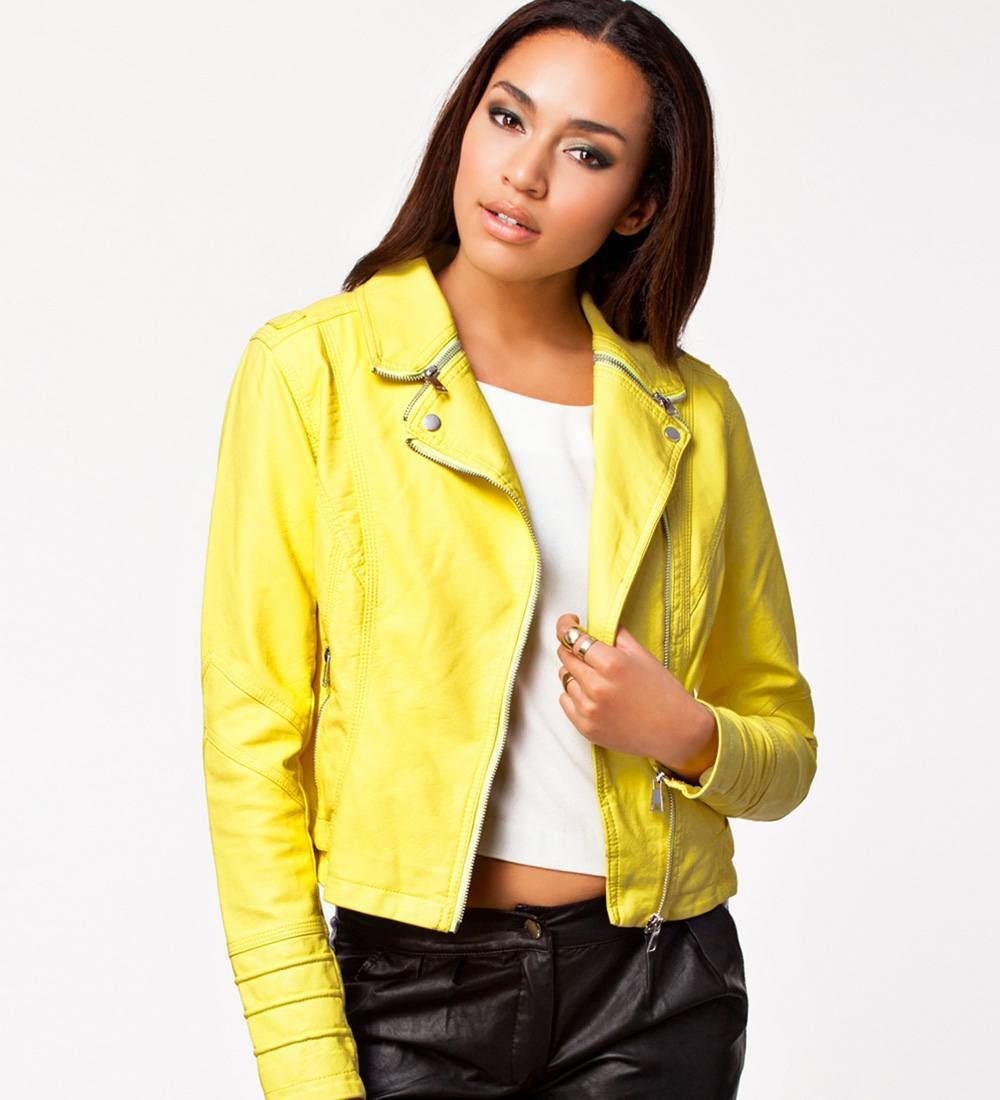 Modern Citron Coat
