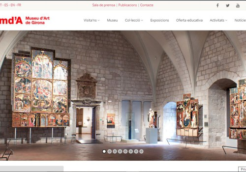 Programming Of New Website For The Girona Museum Of Art