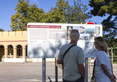 Castelló D'Empúries Tourism And Heritage Signposting