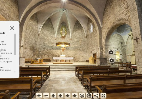360º Images Of The Churches In The Vall De Camprodon