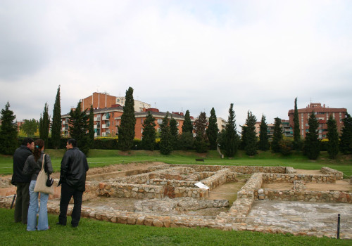 Torre Llauder. Master Plan Of The Roman Villa