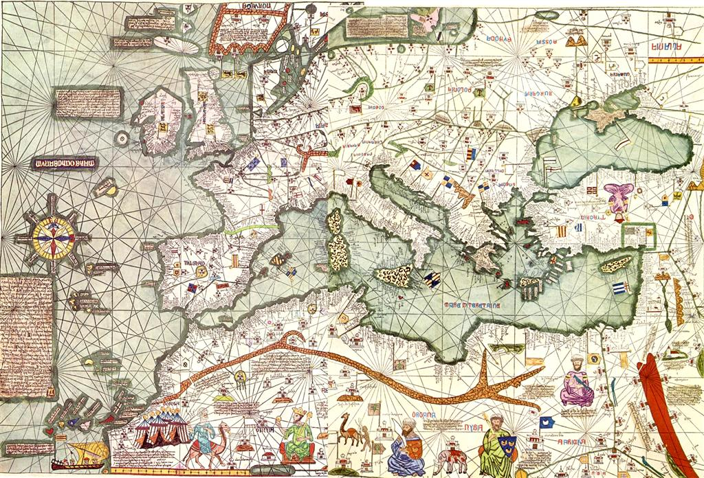 Europe Mediterranean Catalan Atlas